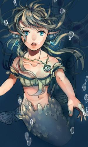 人魚姫 ウヅキさん